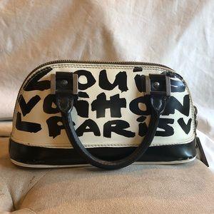 Vintage Graffiti Louis Vuitton bag